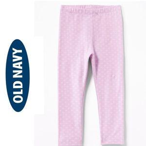 NWT Old Navy Girls Pink Full Length Leggings 4T